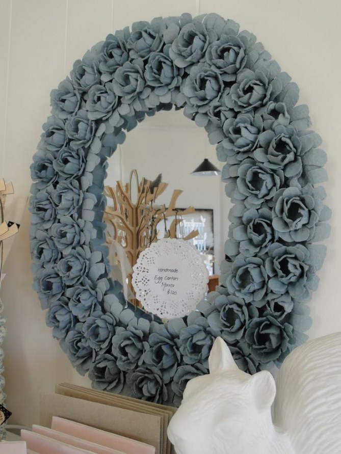 ¡A decorar con hueveras!